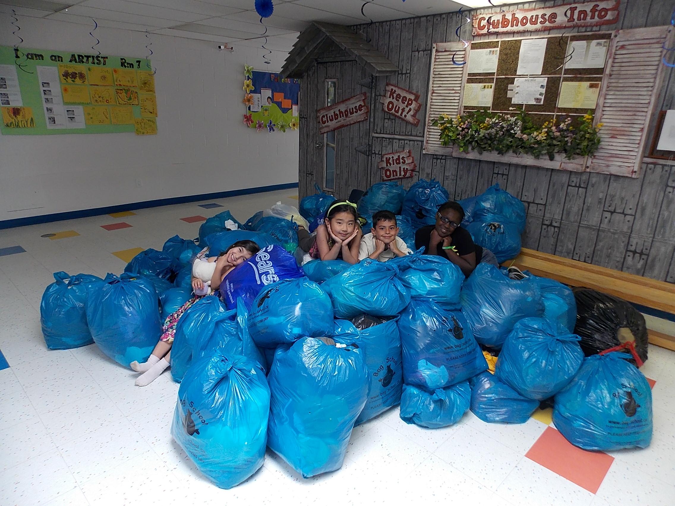 Kids at Mini-school